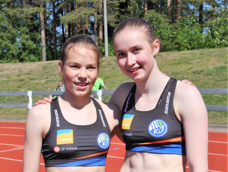 Kaisa Isokääntä ja Jenni Jaatinen ovat ennätyskunnossa.
