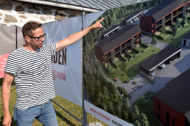 Saul Mäenpään mukaan uusi asuinkortteli suunniteltiin yleisöpalautteen pohjalta.