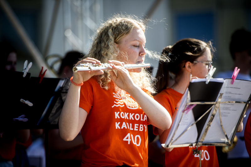 Kesäsoittokunta muodostuu Konservatorion nuorisosoittokunnan A-orkesterista.