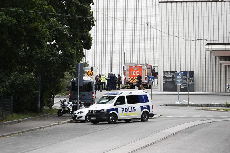 Yksi henkilö loukkaantui Kaupunginteatterin räjähdyksessä.