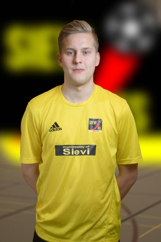 Jesse Heinonen on Sievi FS:n uusin sopimuspelaaja. Sopimus kattaa Futsal-Liigakauden 2020-21.