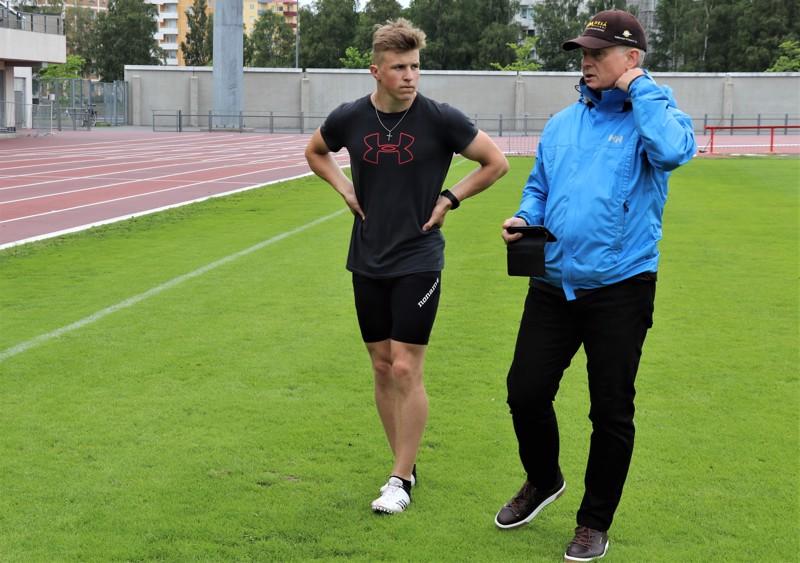 Niko Kangasojan ja Pertti Purolan valmennusyhteistyö on tuottanut tulosta etuajassa.