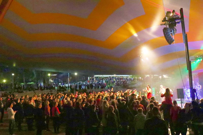 First Run Rock järjestettiin Kaustisella ensimmäistä kertaa viime vuonna. Paikkana oli festivaalipuisto.