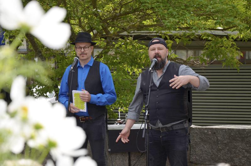 Juha Kuurajärvi ja Keke Lammassaari avaavat tämän vuoden Rakkaus ja runo -festivaaleja.