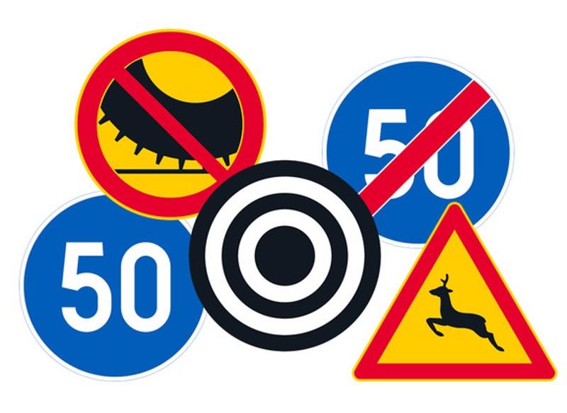 Uusi tieliikennelaki toi tullessaan uudet liikennemerkit. Kaikki yksityiskohdat uusista säännöistä on luettavissa Traficomin-sivuilla.