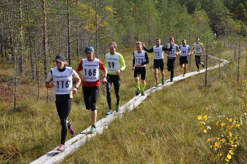 Juoksijat ovat kiertäneet Törmäjärveä sekä myötä- että vastapäivään. Uusilla radoilla kaikki sarjat kiertävät rataa samaan suuntaan.