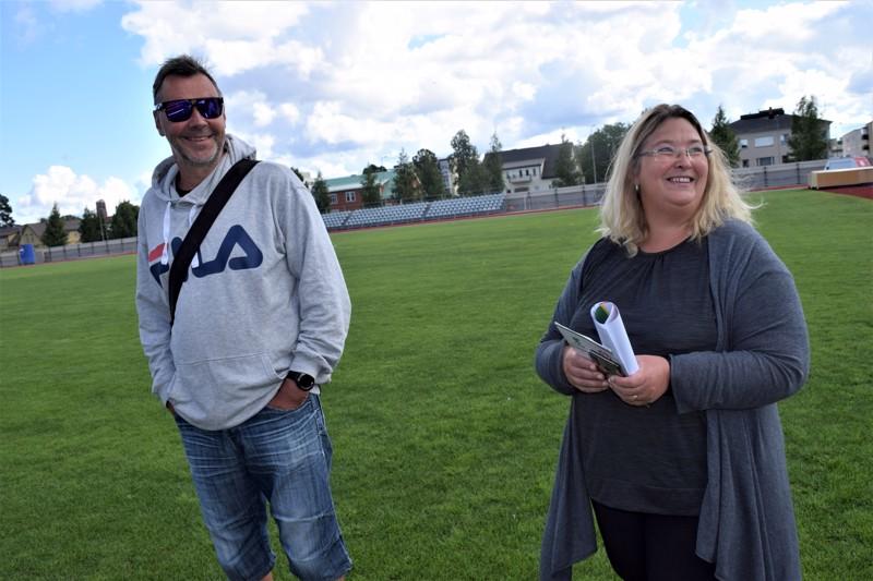 Kaj Nyman ja Sara Åhman ovat valmistelle 44. Jaakon Maratonia.
