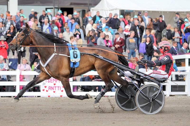 Ajajaliigaa hallitseva Santtu Raitala ajoi Pihtiputaalla seitsemän voittoa, joista kuusi tuli Antti Ojanperän valmennettavilla.