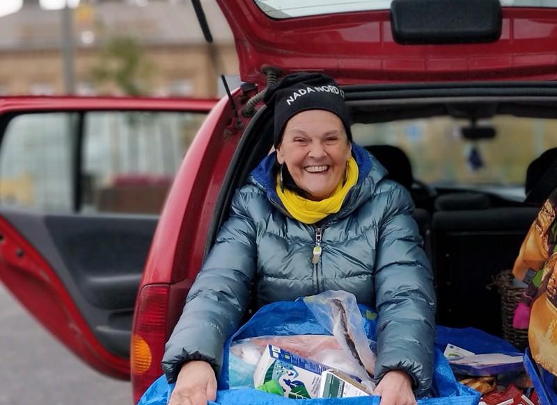 Avustusjärjestö Nada Nordin puheenjohtaja Gunilla Luther-Lindqvist valittiin uudeksi Laiska-Jaakoksi.