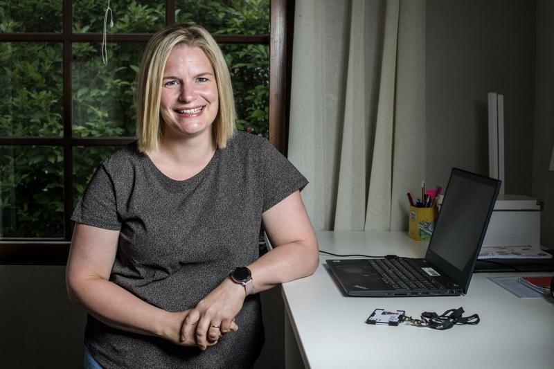 Kokkolalainen Jonna Särkilä on tiennyt jo yläasteella, että haluaa työskennellä aikuisena sairaanhoitajana mielenterveystyössä.