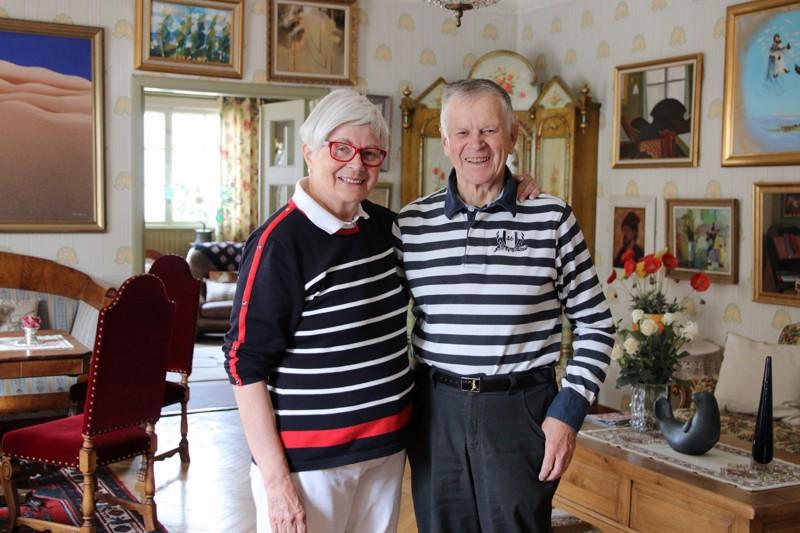 Maj-Britt ja Kalle Björndahl kantavat mukanaan paljon hiljaista tietoa kaupungin kulttuurielämästä ja historiasta.