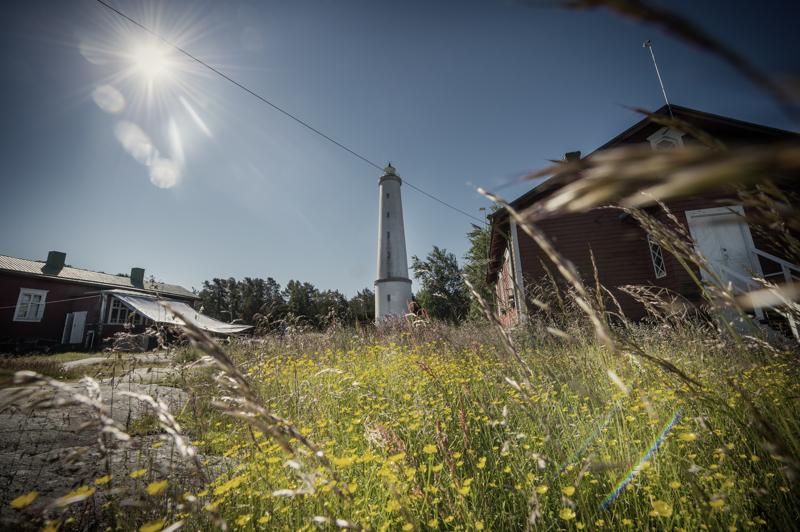 Selkämeren kansallispuistosta löytyy majakkasaari Luvian Säppi.