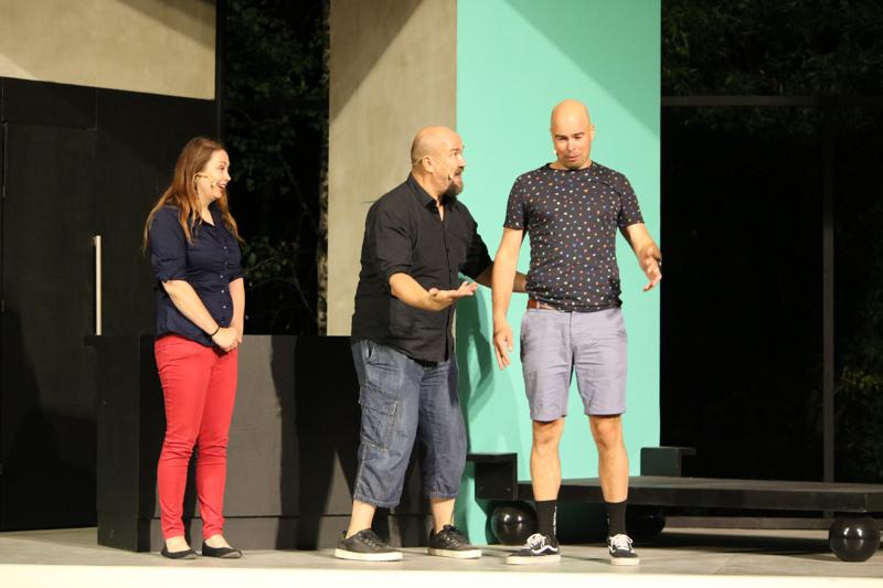 Improvisaatioteatteri Snorkkeli esiintyy Kalajoella elokuun alussa.