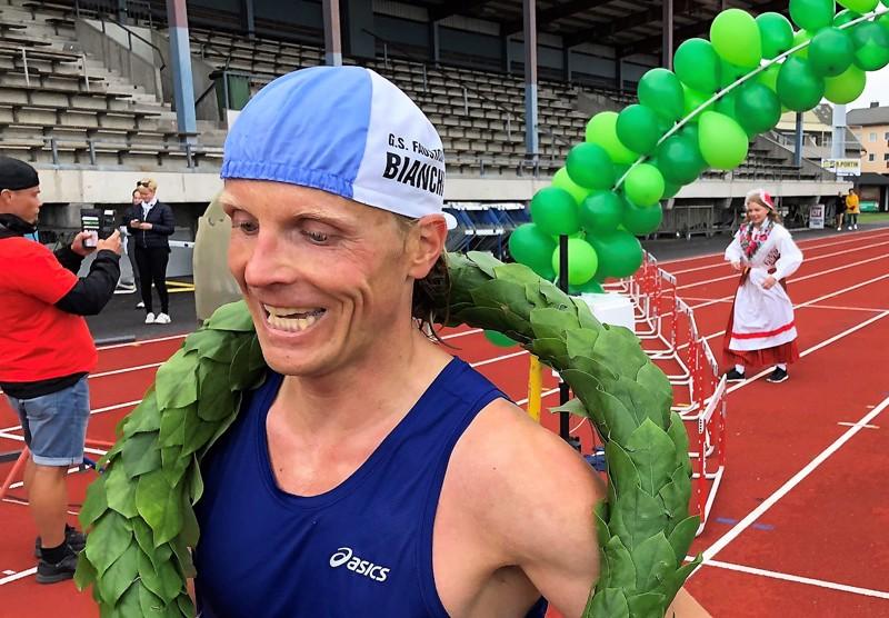 Lapualainen Juha Laitinen voitti Jaakon maratonin kolmannen kerran peräkkäin.