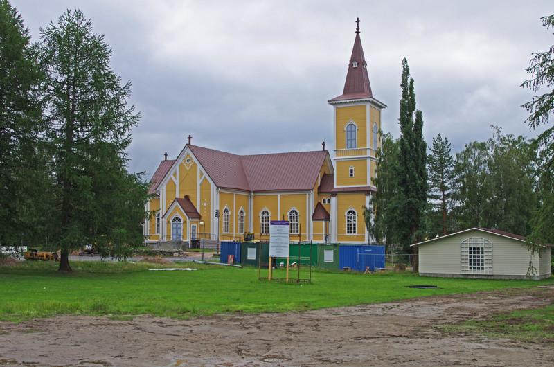 Remontti sulkee kirkon heinäkuun lopulta kolmanteen adventtiin saakka.