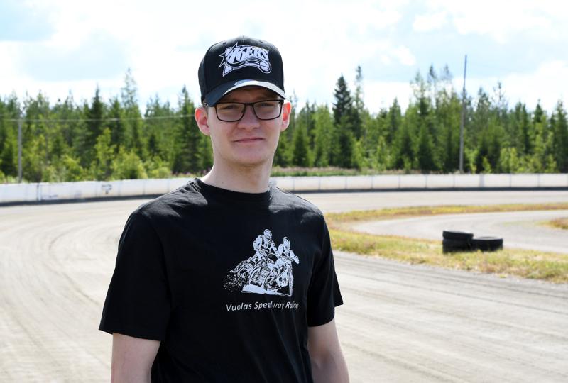 Haapajärven Moottorikerhon Antti Vuolas oli lähellä mitalia speedwayn SM-finaalissa.