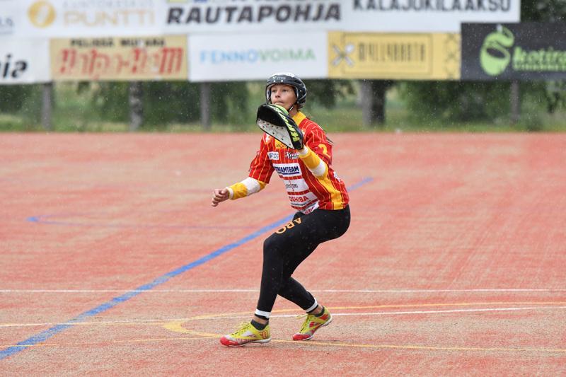 Numerolla 2 lyönyt Saaga Rautionaho toi Kuulattarille neljä juoksua.