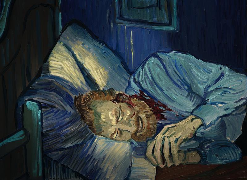 Vincent van Gogh tyylilleen uskollisena.
