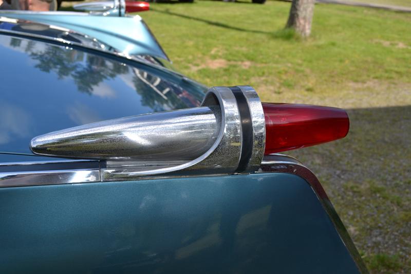 Jäätelötötterövalo; Vanhoissa autoissa on paljon hienoja yksityiskohtia ja sielukkuutta.