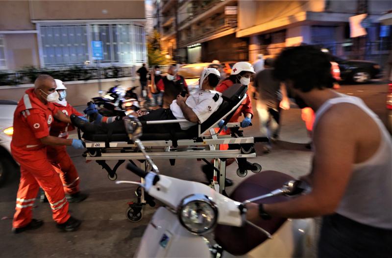 Räjähdyksessä loukkaantui yli 4000 ihmistä. Kuolleiden määräksi tiedettiin aamulla 78 henkeä.