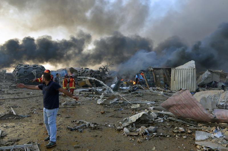 Räjähdys oli todennäköisesti onnettomuus, jonka aiheutti suuri ammoniumnitraattivarasto,