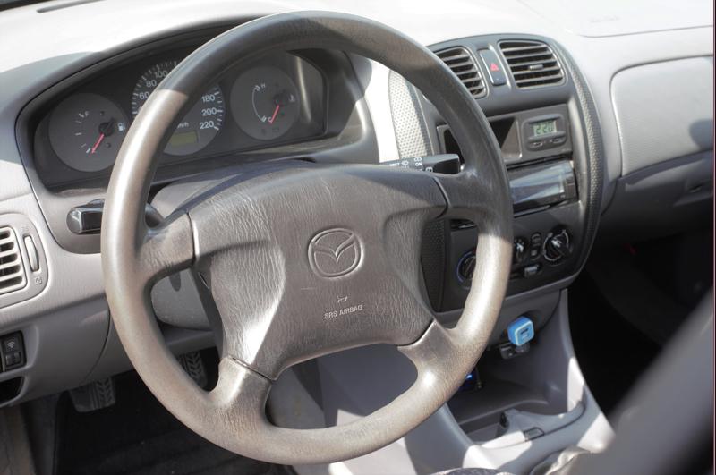 Mazda on sisältäkin entisellään.