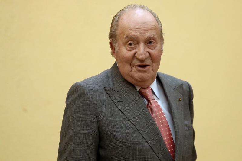 Espanjan ex-kuninkaan Juan Carlosin tämänhetkinen olinpaikka on tuntematon. Kuva on arkistokuva vuodelta 2017.