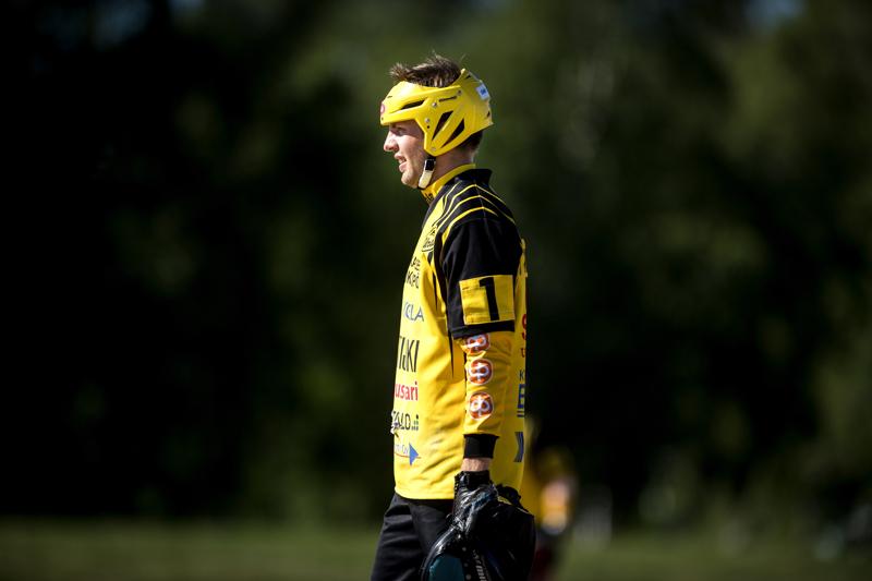 Uran kakkosvahti Miro Märsylä toi lauantaina joukkueen avausjuoksun Loimaalla.