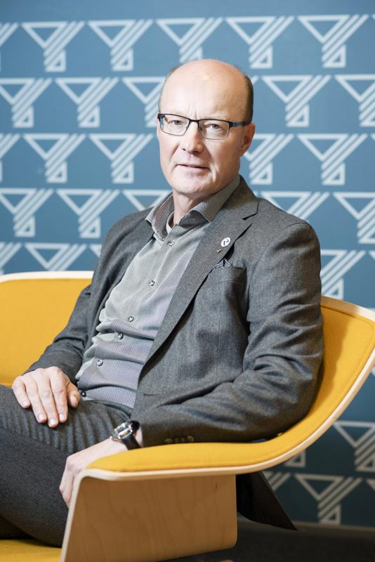Antti Rantalainen sanoo, että pandemia on osoittanut SY:n merkityksen myös neuvontaorganisaationa.