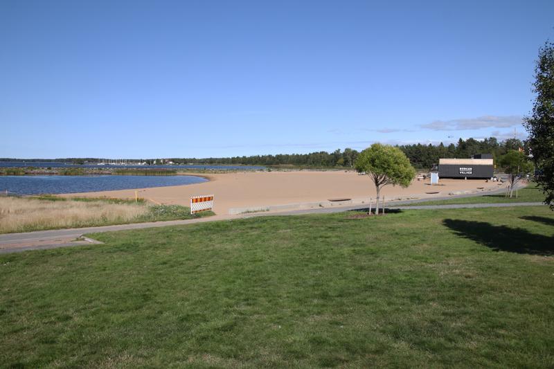 Meripuiston uimarannalla on havaittu järvisyyhyä.