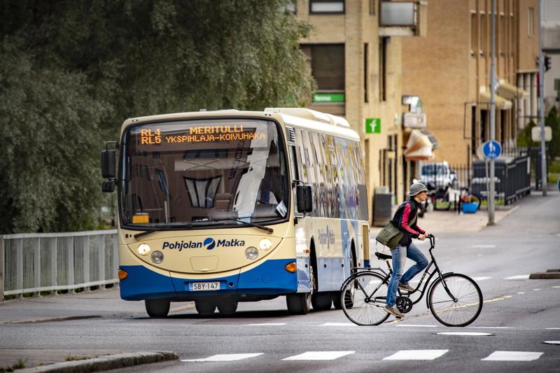 Kokkolassa risteilee keskiviikosta lähtien yhteensä yhdeksän bussilinjaa.
