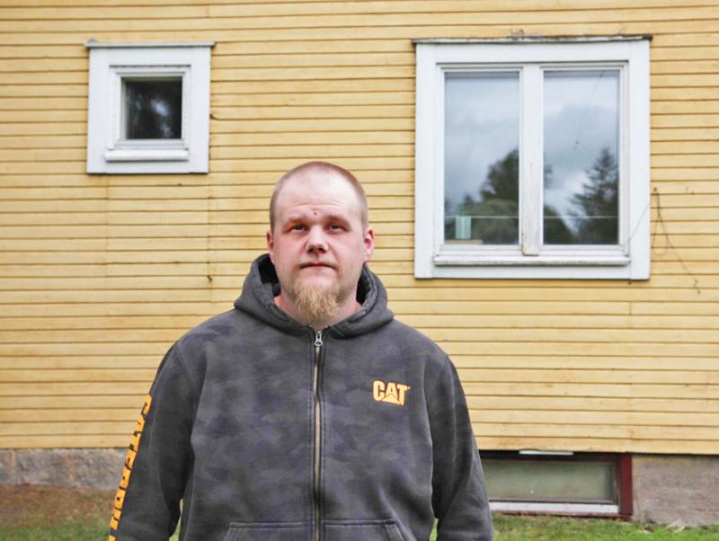 Vuoden Nivalassa asunut Sami Hurskainen pitää maalaispaikkakunnasta.
