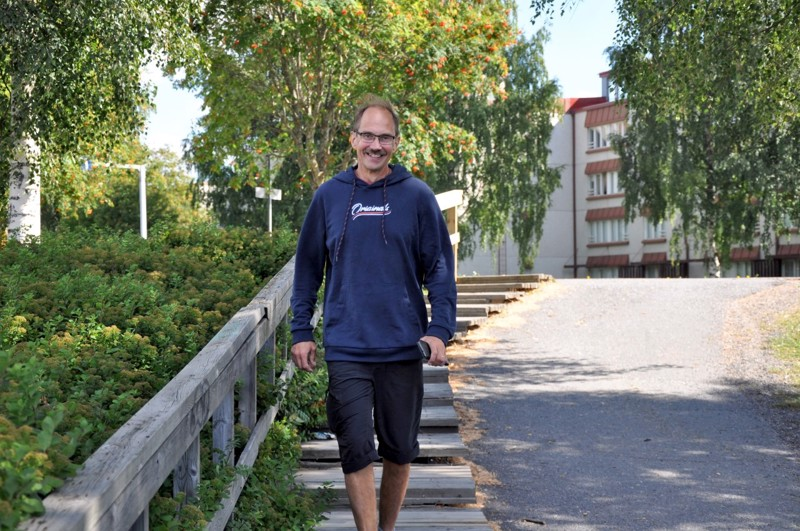 Kari Kangasvieren viikonloput sisältävät työtä, rentoutumista ja urheilukilpailujen seuraamista.