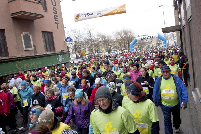 Tänä vuonna Kokkola City Run -tapahtumassa on väljempää.