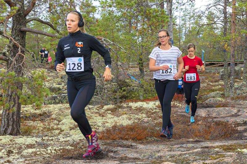 Kuudennen kerran järjestettävä Trail Run Korkatti saa tänä vuonna rinnalleen XC Korktain. Arkistokuva.