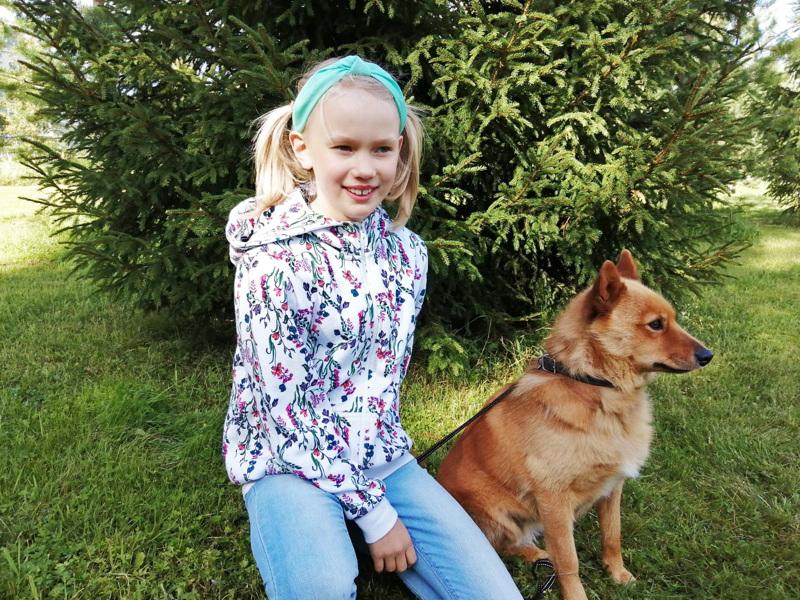 Soili Heiskasella on lemmikkinä koira ja kolme kania.