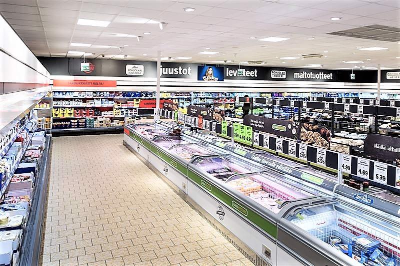 Pietarsaaren Lidl-myymälä on remontoitu kauttaaltaan.