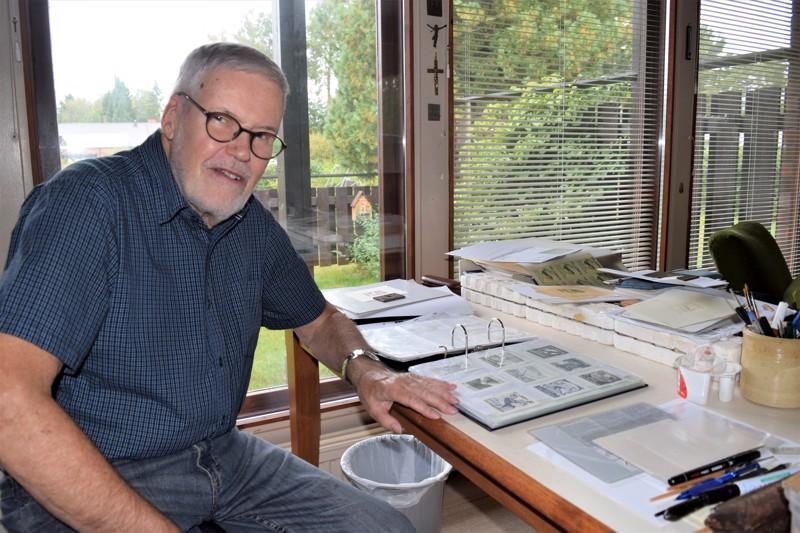 Sven Svanbäck keräilee itsekin exlibriksiä.