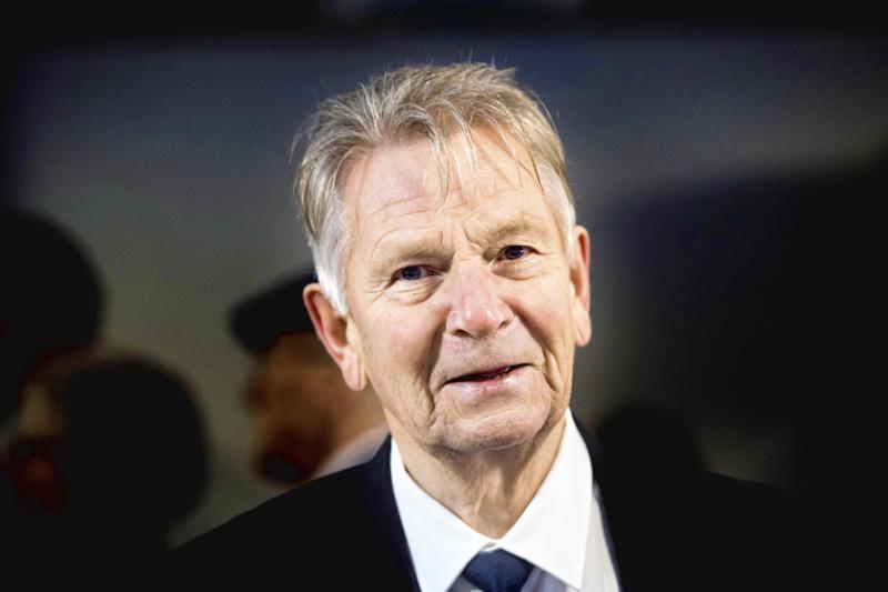 Kristillisdemokraattien entinen puheenjohtaja, nykyään kokoomusta edustava Bjarne Kallis. Kuva on vuodelta 2017.