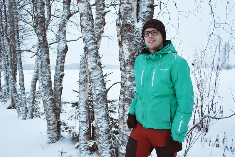 Teemu Haukipuro edustaa puoluevaltuustossa Pohjois-Pohjanmaan Keskustanuoria.