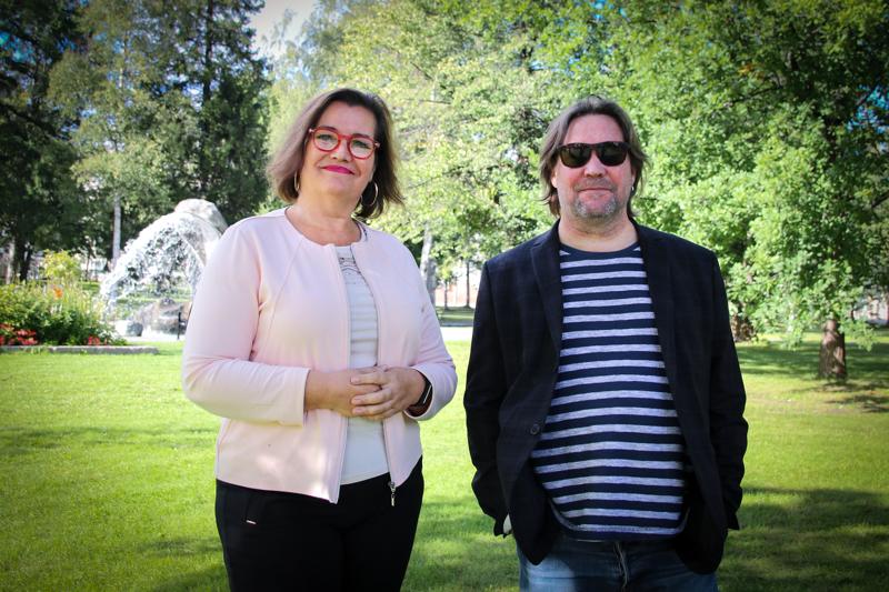 Annika ja Mika Mylläriä yhdistää rakkaus taiteisiin sekä työhön, jota tehdään paljon ja täysillä.