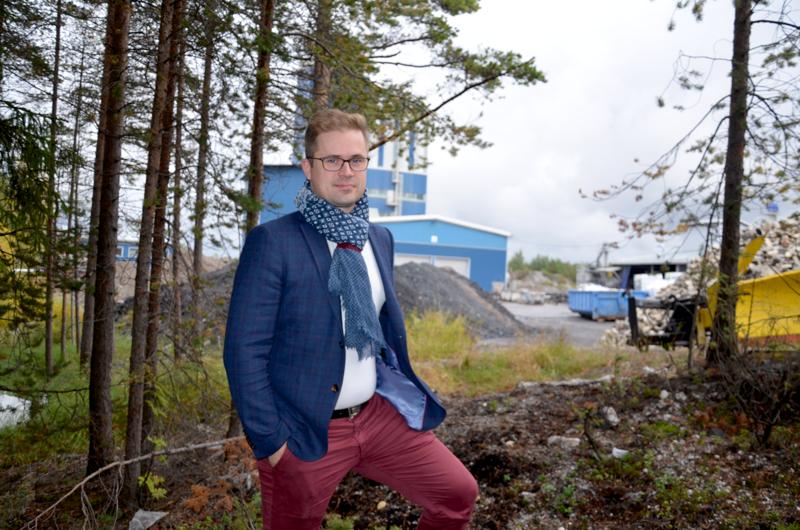 Antti Hautamäki kertoo, että Ylivieskassa nyt toistamiseen järjestettävän tapahtuman tarkoituksena on tuulettaa yrittäjien ja heidän työntekijöidensä ajatuksia.