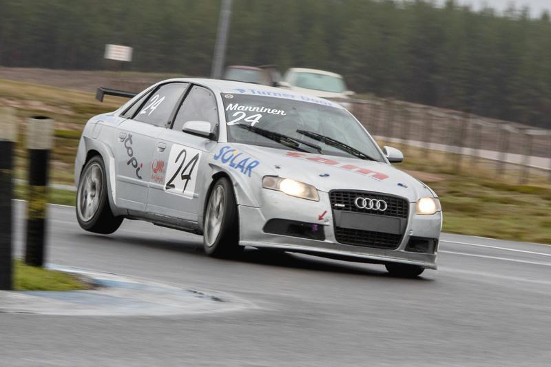 Petri Manninen sijoittui Audillaan jaetulle kolmossijalle.