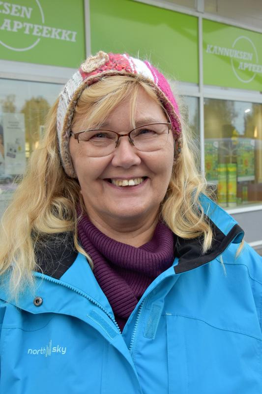 Hannele Ilola, Kannus- Paikoin ihan katastrofaaliset. Toivottavasti vuoden päästä saadaan Kannuksen keskustassa kuntoon.
