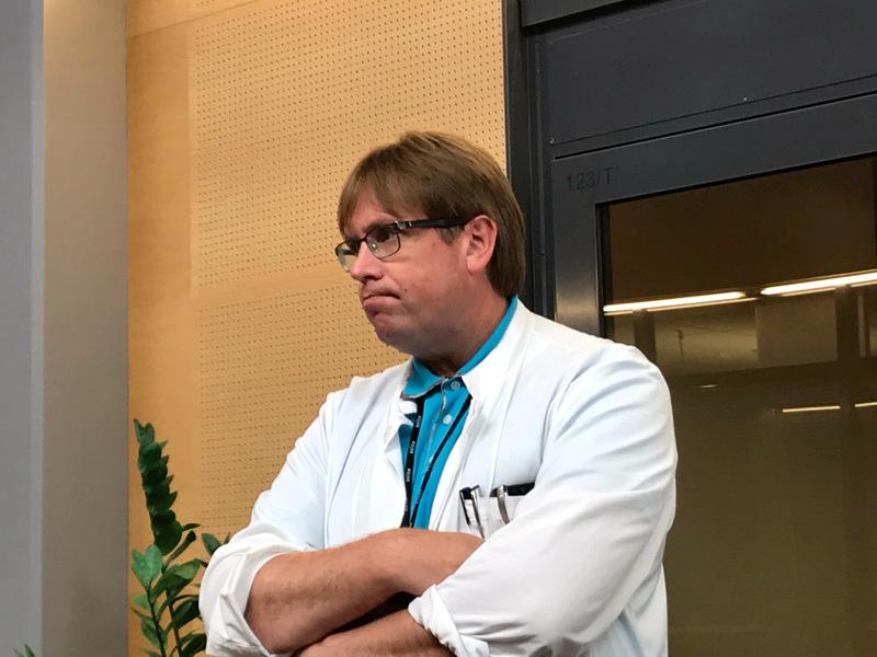 Infektioylilääkäri Marko Rahkosen mukaan Keski-Pohjanmaalla aletaan olla kiihtymisvaiheen rajalla.