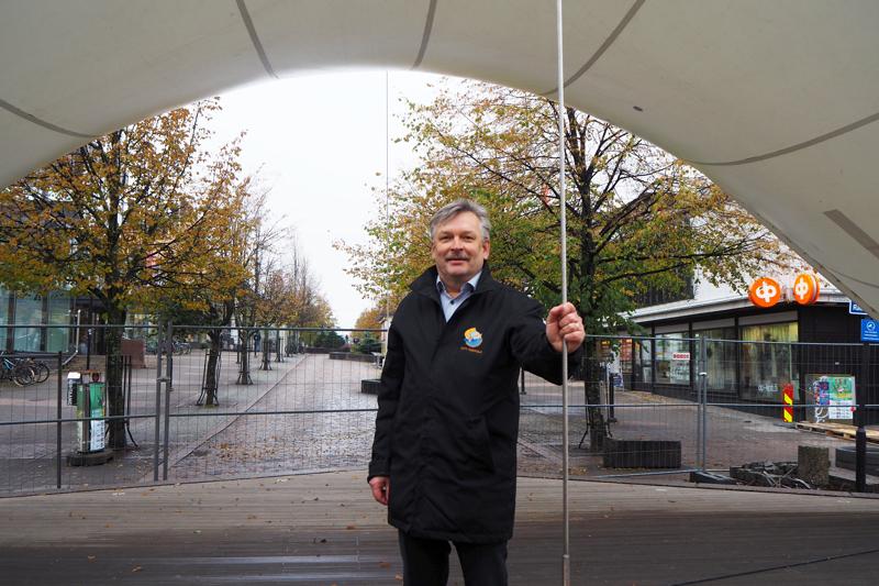 City-Kokkolan Kari Moilanen uskoo ison monitoimiareenan tuovan kaupunkiin rahaa.