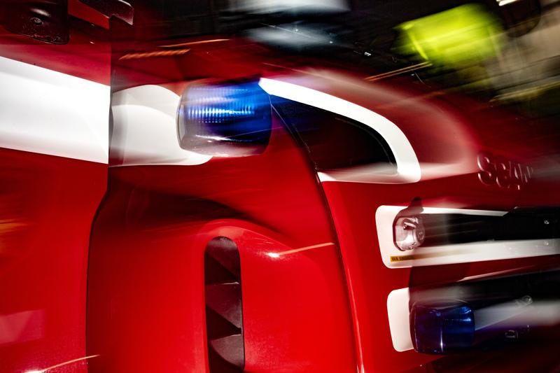 Kalajoen ja Alavieskan välillä on tapahtunut liikenneonnettomuus.