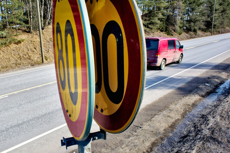 30-vuotias nuori mies oli ylittänyt lähes puolella suurimman sallitun kilometrituntinopeuden heinäkuun lopulla Alavieskan ja Kalajoen välillä.