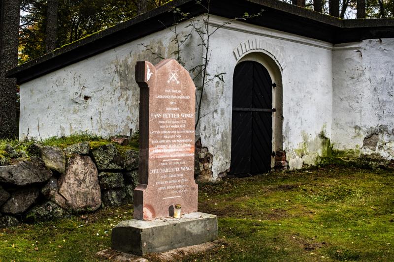 Katariinan kalmistossa seisova Hans Petter Wingen hautakivi kunnostettiin elokuussa. Lopputulos yllätti museon ja seurakuntayhtymän edustajat.