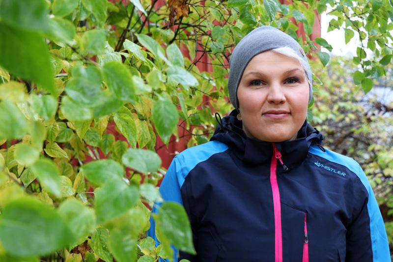 Heta Lepistö harrastaa liikuntaa ja on yhdeltä koulutukseltaan personal trainer.